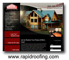 Rapid Rooings Web Design