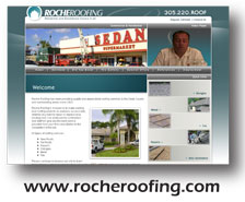 Roche Roofing Web Design and SEO