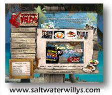 Salt Water Willies Web Design